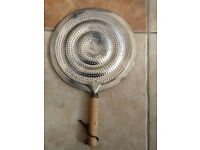 Gas ring pan heat diffuser. New