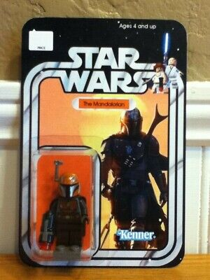LEGO STAR WARS The Mandalorian Minifigure Figure BRAND NEW On Card!!!!
