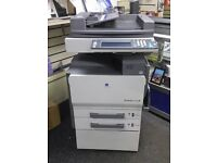 Laser Copier /Printer/Scanner Konica Bizhub C250n used **free Toners & Consumables
