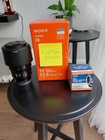 Sony FE 90mm Macro G OSS