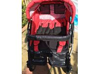 Twin pram and pushchairs - 2 in 1