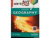 Higher geography revision book