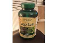 Free 200 Sage Leaf Capsules