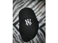 NEW ERA BLACK WITH WHITE NY LOGO FREE SIZE HAVE MORE CAPS FOR SALE