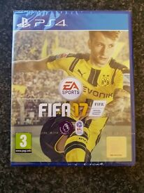 FIFA 17 For The PS4- BRAND NEW & SEALED- Still in wrapping!!