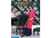 KAJAL STYLE GEMS VOL-1 WHOLESALE CASUAL READYMADE KURTIS