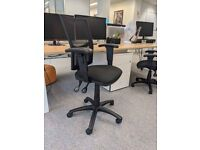 FREE SAME-DAY DELIVERY - Torasen Mercury Mesh Office Chair With Height Adjustable Arms