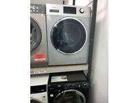 Hisense 8Kg Washing Machine silver Ex Display (12 Months Warranty)