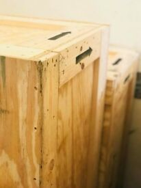 Shipping Cases ( Wooden crates )