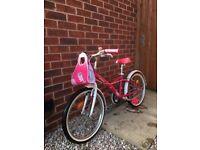 "Decathlon BTwin Misti Girl 500 Kids Bike 20"" Pink"
