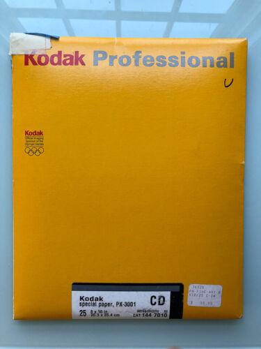 Kodak PX-3001 (Ektalure)  8x10 14 sheets Expired AS IS