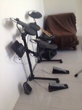 Yamaha electric drum kit with stool and sticks Scarborough Stirling Area Preview