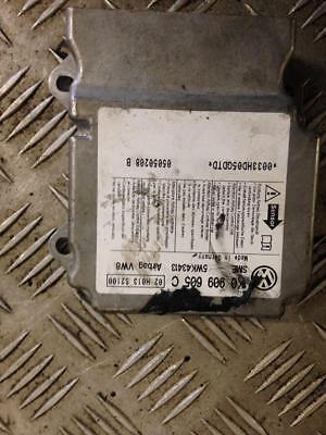 2007 MK5 5DR HATCH BKD 2.0 TDI VW GOLF ECU MODULE 5WK43413 1K0909605C