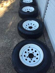 Toyota Land Cruiser Wheels Tyres and Rims - Suit 79 Series Tewantin Noosa Area Preview