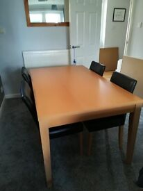 Beech Dining table (No chairs)