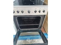 Stainless Steel 'Teba' Ceramic Top Electric Cooker - Good Condition / Free local delivery