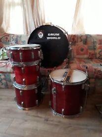 Drum world Drum kit