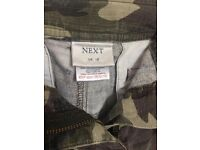 Size 14 Cargo Crop Trousers