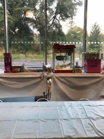 POPCORN,CANDYFLOSS AND HOTDOG MACHINES FOR HIRE
