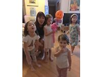 Private Chinese and painting teacher for 5-14 years old child