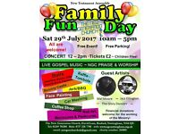 Family Fun Day - A Free and exciting day out for all the family... FUN, FOOD AND MUSIC