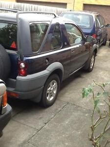 2001 Land Rover Freelander SUV Come to buy quick urgent sale now Clayton Monash Area Preview