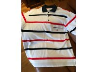Paul And Shark Yachting Mens Large Polo Shirt Striped WORN ONCE - IMMACULATE
