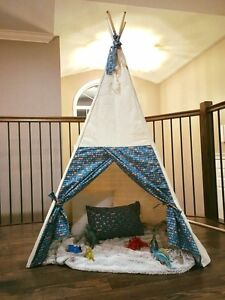 New Handcrafted Kids Teepee