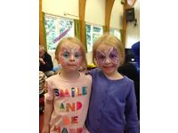 Experienced Face Painter for Parties and Events