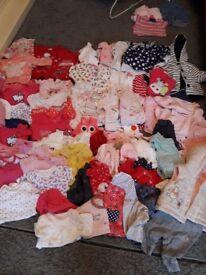 Girls clothes 0-3months