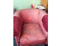 Beautiful second hand armchair
