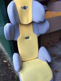 BMW mini car seat
