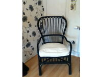 IKEA BLACK RATTAN ,Conservatory/Patio Chairs