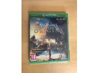 Assassins creed origins , Xbox one , brand new & sealed ! Price stands , no offers !