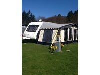 Kampa carnival awning and extras.