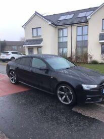 Audi A5 2.0 tdi black edition 64 177 bhp Quattro Auto
