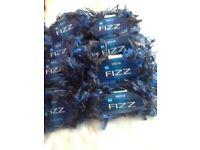 Sirdar fizz wool 8 X 50 g blue
