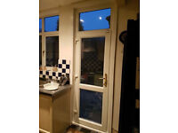 french door and windows