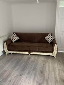 ✔✔ SULTAN SOFA BED ✔✔ 3 SEATER SOFA-BED & 2 SEATER SOFA-BED AVAILABLE NOW IN STOCK