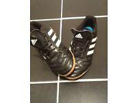 Boys Adidas football trainers size UK 4
