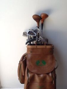 Golf Clubs, Bag Buggy Semaphore Park Charles Sturt Area Preview