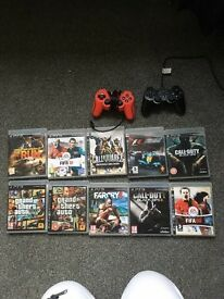 PS3 and 11 games