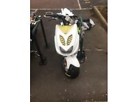 yamaha aEROX YQL 50 MANY NEW PARTS BROUGHT PHONE FOR DETAILS WAS BROUGHT FOR MY SON BUT DOESNT WANT