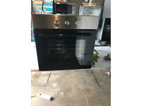 Montepellier Built In Single Oven- Silver- Brand New- Graded