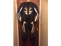 Leather motorcycle suit two piece.Hein Gericke