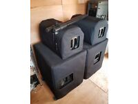 KV2 EX10 and 2.2 actove speaker PA system (Nexo, Turbosound, QSC, D&B, Yamaha)