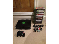 Original Xbox Console With 27 Games