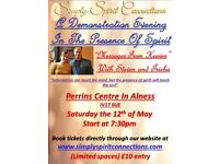 A Demonstration Evening In the Presence Spirit