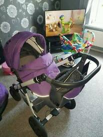 Purple Travel System