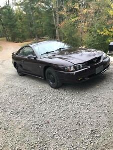 1995 Ford Mustang completely overhauled.